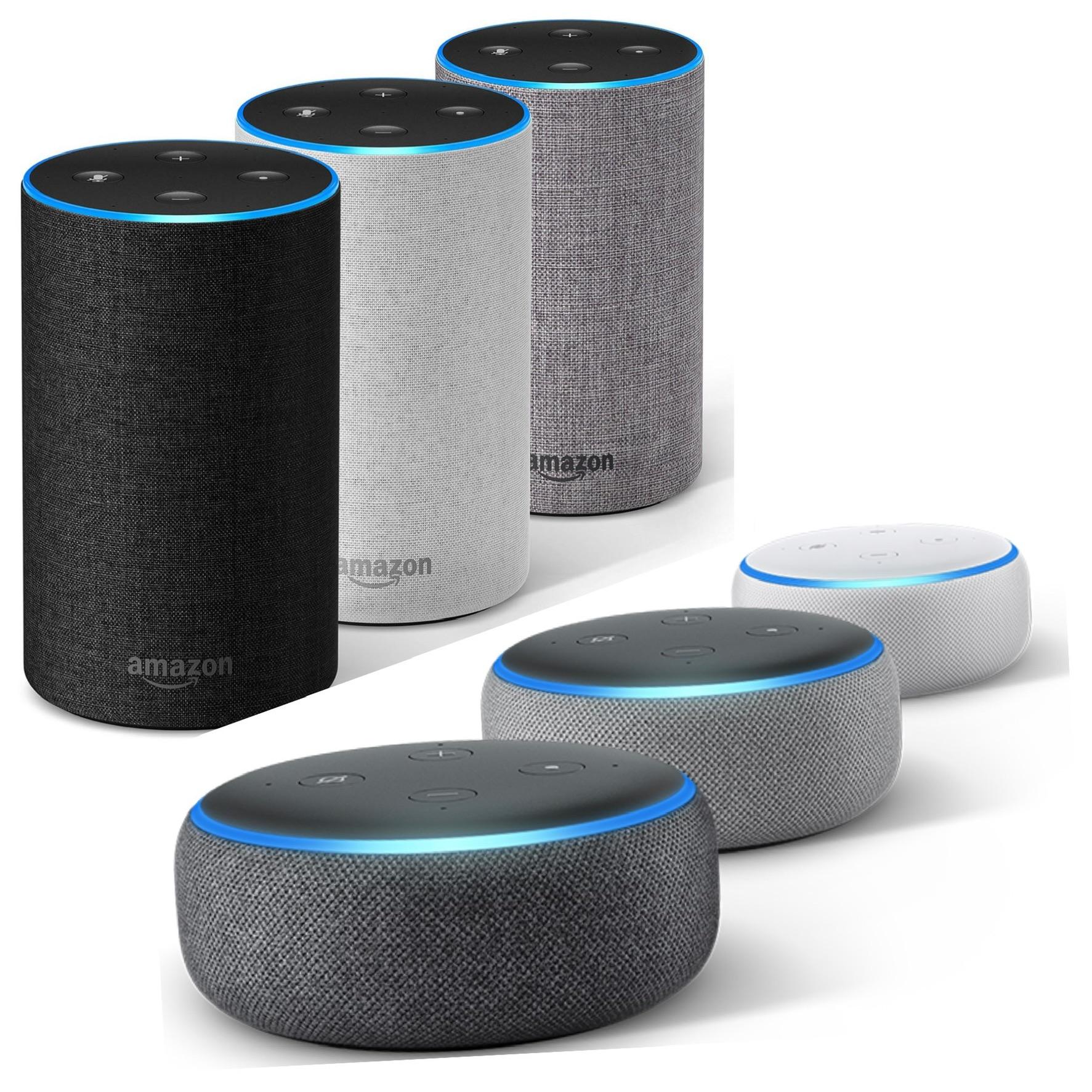 Amazon Echo Dot (3rd Gen) - Smart speaker with Alexa - (All Colours) £24.99 // Amazon Echo 2nd Gen. (All Colours) £59.99 @ Amazon