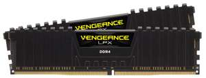 Corsair Vengeance LPX 16GB (2x 8GB) 3000MHz DDR4 memory kit, £62.69 at CCL Online