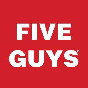 No delivery fee for orders from Five Guys via Deliveroo **TODAY ONLY**