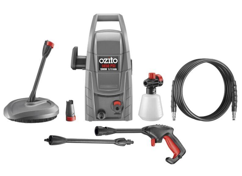 Ozito 1300w 1450PSI Pressure Washer for £44 @ Homebase (+3 years warranty)