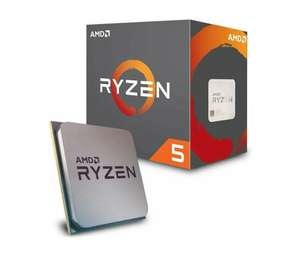 AMD Ryzen 5 2600X Processor with Wraith Spire Cooler - YD2600BBAFBOX @ Amazon - £157.49