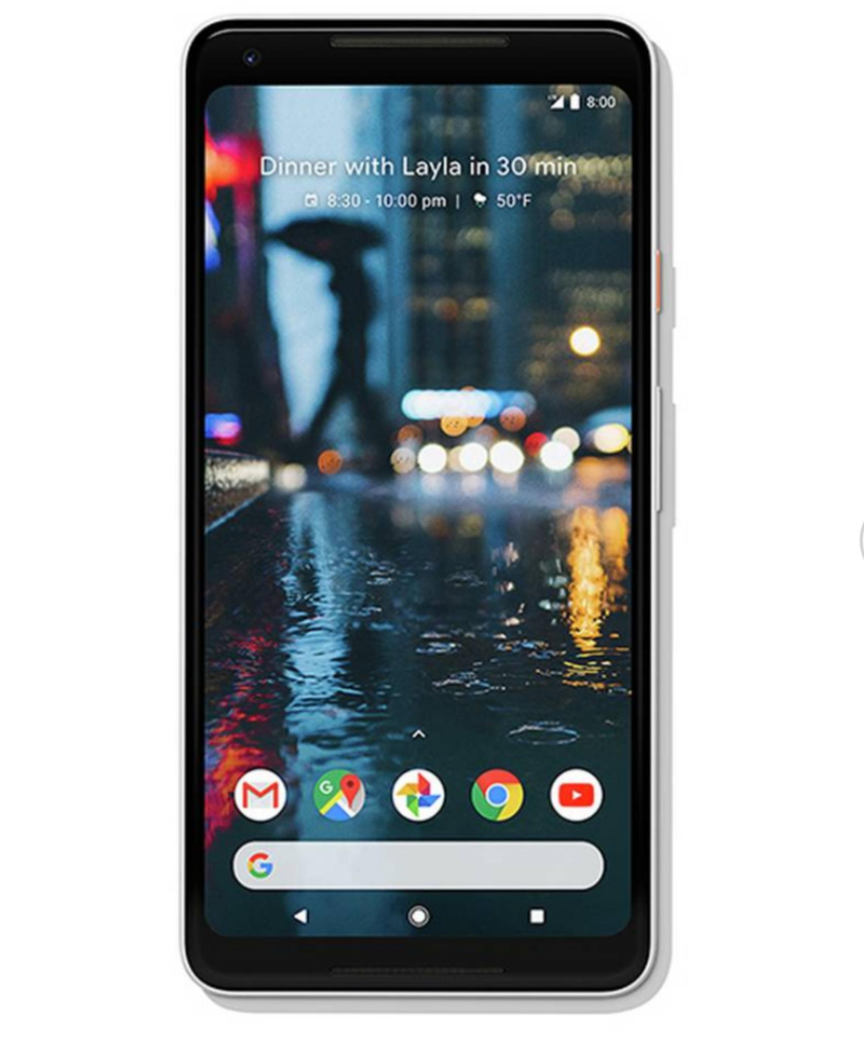 SIM Free Google Pixel 2 XL 128GB Mobile Phone - White - £349.95 @ Argos