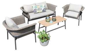Lin 4 Seater Conversation Set - £364.44 Delivered @ Argos