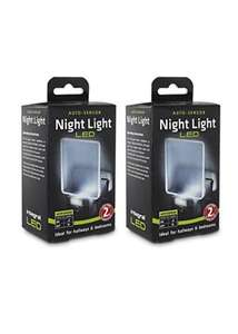 Integral Auto Sensor, Dusk to Dawn, LED Night Light, Plug In, Pack of 2 (UK 3-Pin Plug) £6.99 Delivered from Base.com
