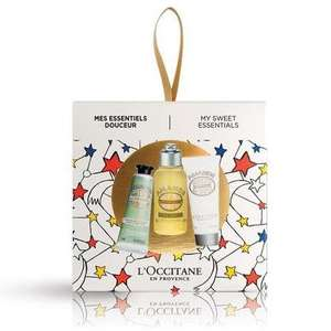 L'Occitane My Sweet Essentials gift set £4.80 postage £3.90 or FREE on a £20 spend further 10% Off new customers