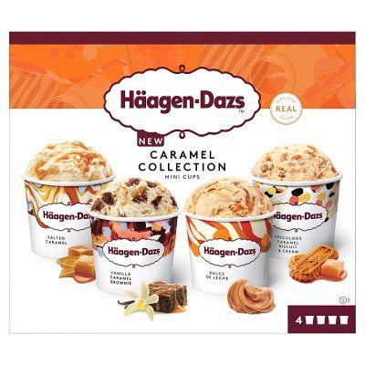 Haagen-Dazs Mini Cup Ice Cream 4x95ml - 2 for £6 @ Waitrose