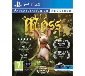 Moss (PS4/PSVR) £11.85 Delivered @ Base