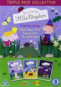 Pre-Owned: Ben and Holly triple pack  DVD 75p instore or £2.25 delivered @ CeX
