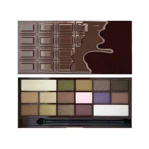 I Heart Revolution chocolate eyeshadow pallettes reduced to £4.00 and also on 3 for 2 online @ Superdrug