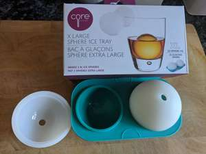Large ice sphere's £1.99 , Home bargains in-store
