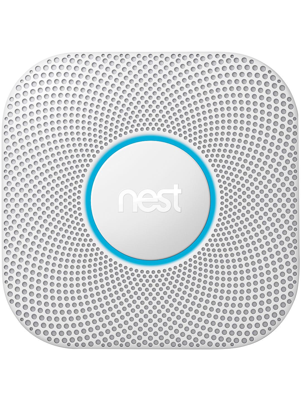 Nest Protect, Smoke + Carbon Monoxide Alarm  & Google Home Mini Hands-Free Smart Speaker, Charcoal (Bundle) £74 @ John Lewis & Partners