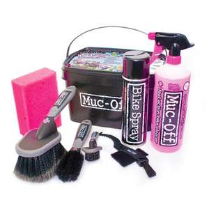 (it's back)Muc Off 8 in 1 Bike Cleaning Kit (includes £1 delivery to store) - £20.60 @ Blacks