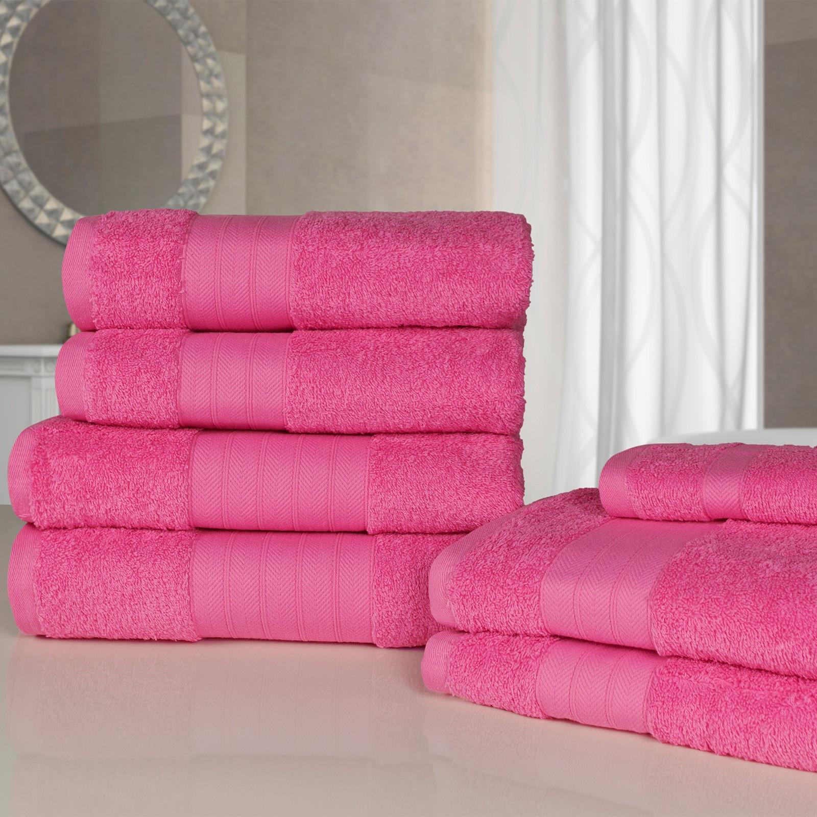 Dreamscene Towel Bale 7 Piece Fuchsia @ OnlineHomeShop £11.98 Delivered
