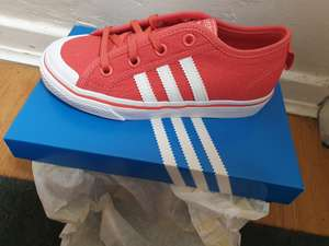 Instore only deal *Kids adidas Nizza C trainers* only £6.95 @ Adidas Outlet Livingston