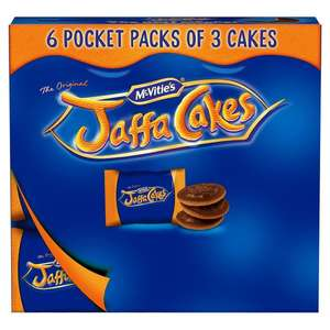 Jaffa Cakes 6 X 3 in a Pack £1 at Co-Op