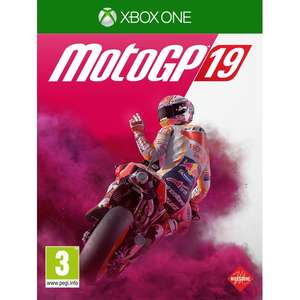 MotoGP 19 Xbox One/PS4Game - £27.99 delivered @ 365games.co.uk