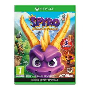 Spyro Reignited Trilogy Xbox One Game - £16.99 delivered @ 365games.co.uk