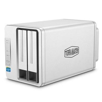 TerraMaster F2-220 2-Bay Desktop NAS (Network-Attached Storage) Enclosure £169.99 Delivered at Box