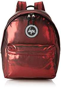Hype Unisex Matte Foil Backpack Red £8.97 @ Amazon [Add On Item]