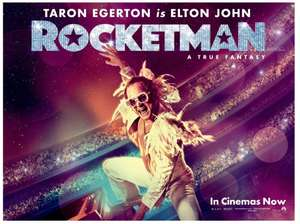 2-for-1 tickets to see Paramount Pictures' Rocket man this weekend