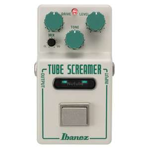 Ibanez Tube Screamer with Korg Nutube Guitar Pedal £139 Delivered @ Andertons