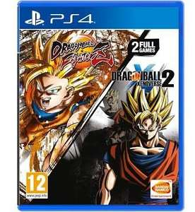 Dragon Ball FighterZ & Dragon Ball Xenoverse 2 Double Pack (PS4) £27.85 delivered @ Base