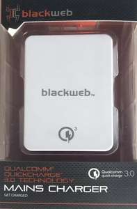 Blackweb Qualcomm Quick charge 3.0 Mains Charger £1.20 @ Asda (In-Store - Aintree)