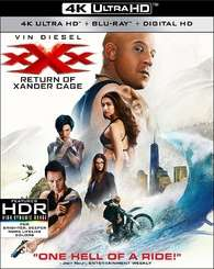XXX The Return Of Xander Cage 4K UHD + Blu-ray + Digital Download - Like New Condition £5.45 delivered @ cardboardstory4 ebay