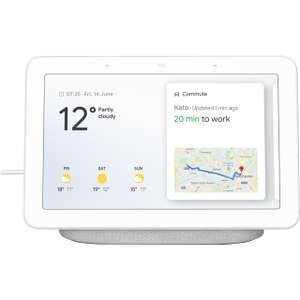 """Google Home Hub with Google Assistant - 7"""" Screen - Chalk £79.99 @ AO"""
