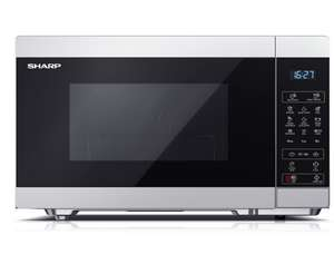 Sharp YC-MG81U-S, 28L Grill Microwave in Silver - £69.99 @ Costco Online