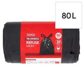 Bin Bags - 73p Instore @ Tesco Great Yarmouth