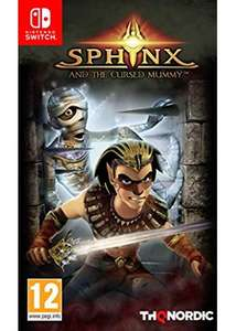 Sphinx and the Cursed Mummy - Nintendo Switch - Base.com £18.99