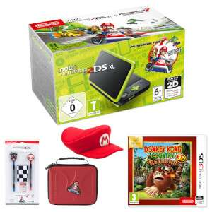 Nintendo 2DS XL Mario and Donkey Kong Pack - £159.99 @ Nintendo UK Store