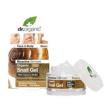 Dr Organic Snail Gel 50ml £9.99 @ Holland and Barrett
