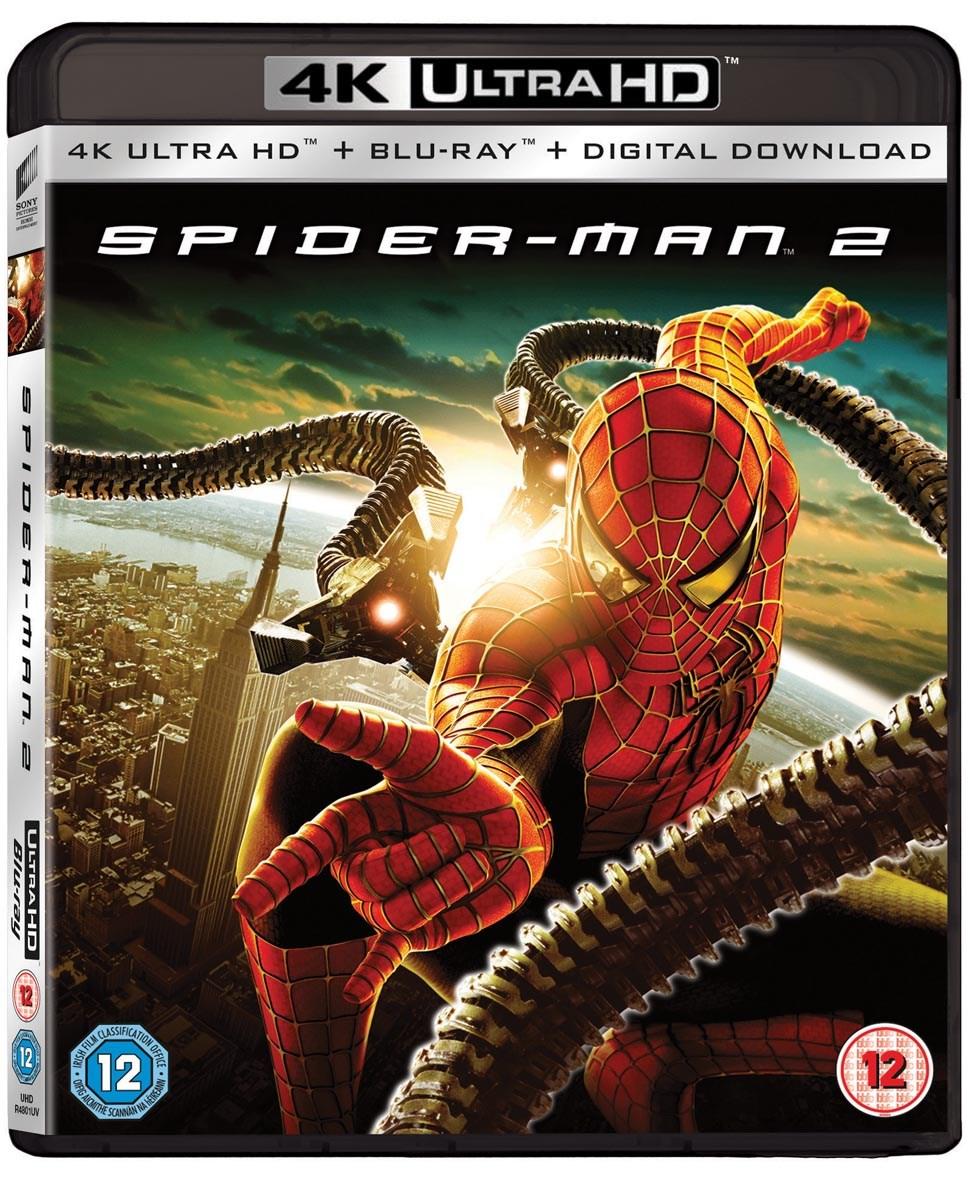 Spider-Man 4K UHD Blu-Rays (see description) £8.99 @ Zoom