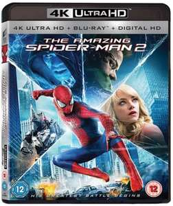 Pre-owned Amazing Spider-Man 2 4K UHD+BR £5.50 /T2 Trainspotting 2 /Exodus Gods & Kings /Transformers Age of Extinction 4k UHD+BR £6.50 Cex