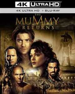 The Mummy Returns 4K UHD+BR Pre-owned £7.50 delivered @ Cex