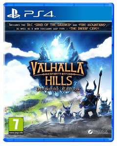 Valhalla Hills - Definitive Edition (PS4) NEW £5.97 (Prime) / £8.96 (non Prime) Sold by EVERGAME and Fulfilled by Amazon.