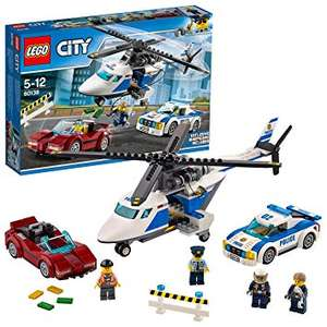 LEGO 60138 City Police High Speed Chase Playset, Toy Helicopter and Sports Car, Police Sets £12.99 + £4.49 delivery non Prime  at Amazon/