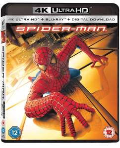 SPIDER-MAN Films in 4K + Blu-Ray + Digital UV Priced £9.99 @ Zoom (Exc Far From Home & Spider-Verse)