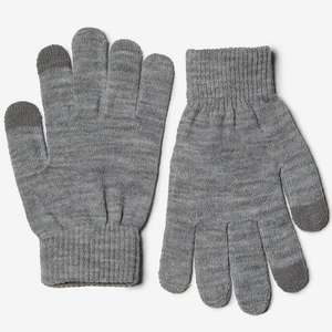 Pieces Grey Gloves 99p Dorothy Perkins free c&c