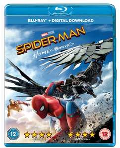 Spider-man Homecoming Blu-Ray £5.99 (Prime) / £8.98 (non Prime) at Amazon