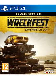 Wreckfest - Deluxe Edition (PS4/Xbox One) £38.85 Delivered (Preorder) @ Base