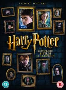 Harry Potter complete 8 film collection on DVD, £21.99 on Amazon Treasure  Truck