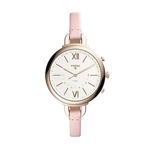 Fossil Hybrid Smartwatch – Annette Pink Leather now £58.65 w/ Newsletter sign-up @ Fossil