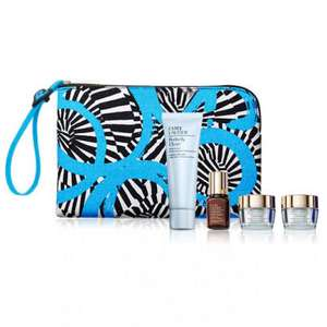 Free 4-piece travel-sized skincare set with purchases over £30 at Estee Lauder Shop