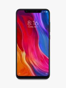 "Xiaomi Mi 8 Dual SIM Smartphone, Android, 6.21"", 4G LTE, SIM Free, 64GB, Black - £199.95 delivered @ John Lewis & Partners (2 yrs guarantee)"