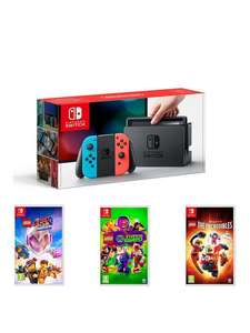 Nintendo Switch with 3 Lego games £309.99 @ Very (Potential £279 using Buy now Pay Later Credit with code)