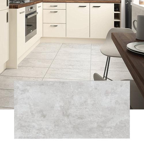 Wickes City Stone Grey Ceramic Tiles - 600 x 300mm - Pack of 5 now £7.18 @ Wickes - Free C&C