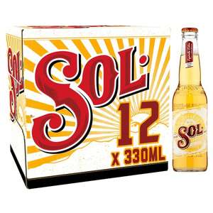 SOL beer 12x330ml bottles £8.50 @ Morrison's